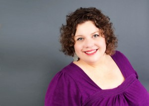 Carla Anne Coroy Author Speaker Mentor photo purple top