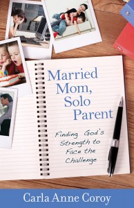 Married Mom Solo Parent by Carla Anne Coroy Book Cover