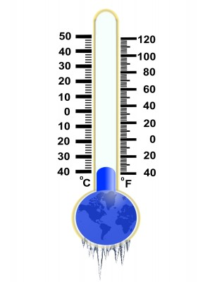 Driving Cold - source: 123rf.com - thermometer reading minus 37 degrees