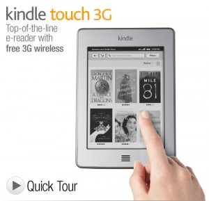 Interviews 2012 - Win a Kindle Touch 3G - Carla Anne Coroy