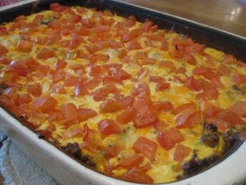 Breakfast Lasagna - Carla Anne Coroy - breakfast casserole corn tortilla lasagna