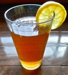 Iced Tea - Carla Anne Coroy - glass of iced tea with lemon slice