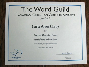 Gala Awards - Married Mom Solo Parent Honored Twice - Carla Anne Coroy - Award of Merit Culture
