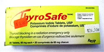 In Case of Nuclear Attack - Carla Anne Coroy - ThyroSafe product