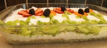 Yogurt Garden - Fun Summer Breakfast - Carla Anne Coroy - Yogurt and granola with fruit makes for fun
