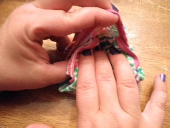 Folding Football Underwear - Carla Anne Coroy - Folding Panties Step by Step