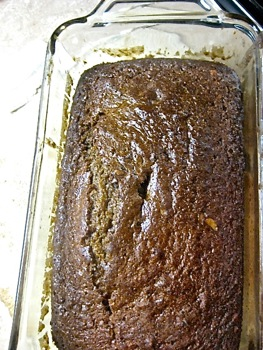Fresh Zucchini Bread - Carla Anne Coroy - Loaf Out of the Oven